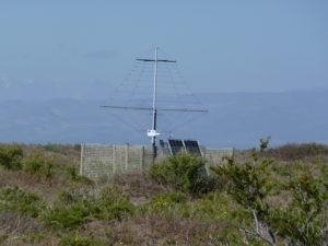 LPDA antenna in the Argentinien Pampa