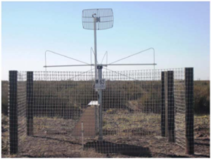 Butterfly antenna of the Auger Engineering Radio Array